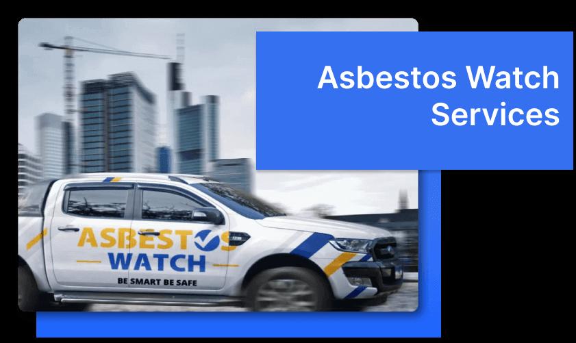 Asbestos Watch Melbourne truck